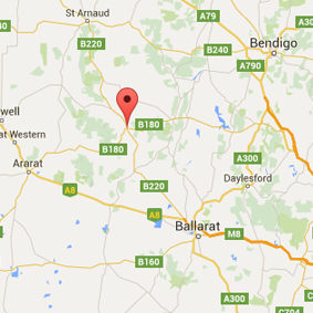 Google Map Avoca Victoria