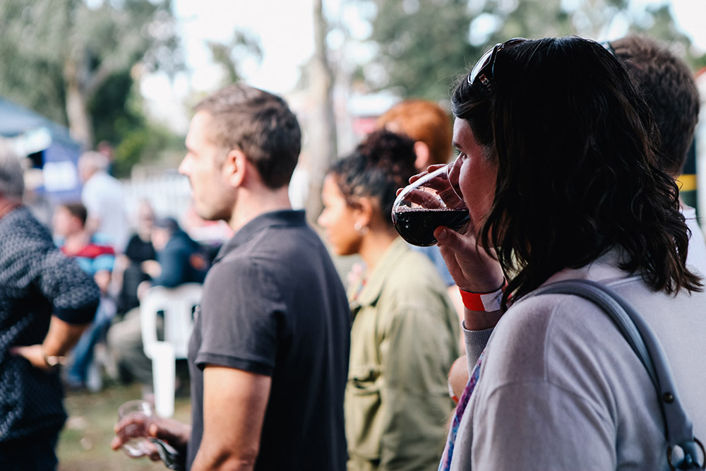 Wine Tasting at Pyrenees Unearthed Festival
